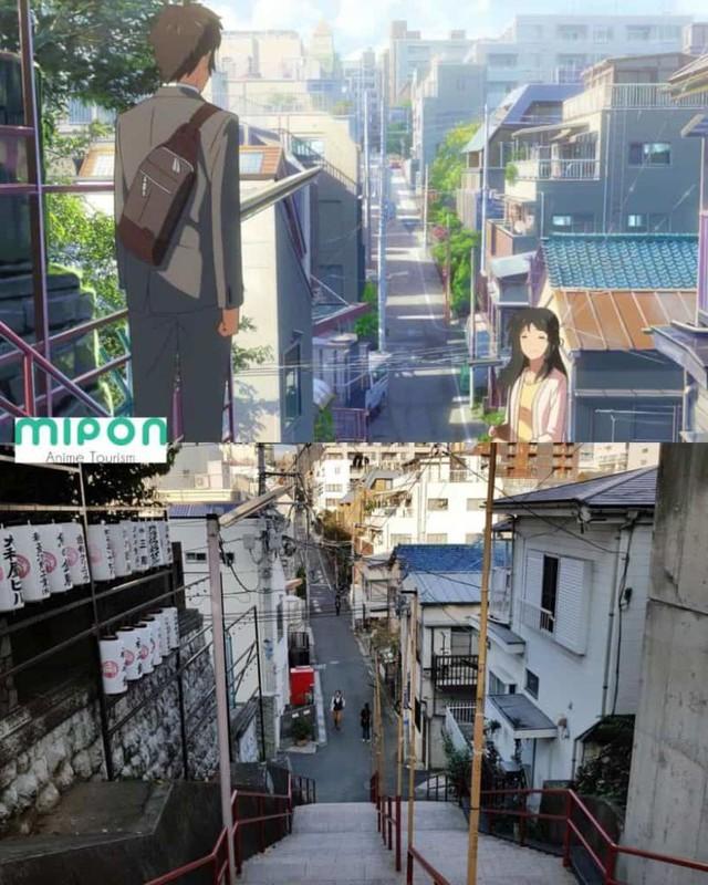 Đi tìm những địa điểm trong anime ngoài đời thực, cả One Punch Man hay Your Name cũng đều góp mặt - Ảnh 10.
