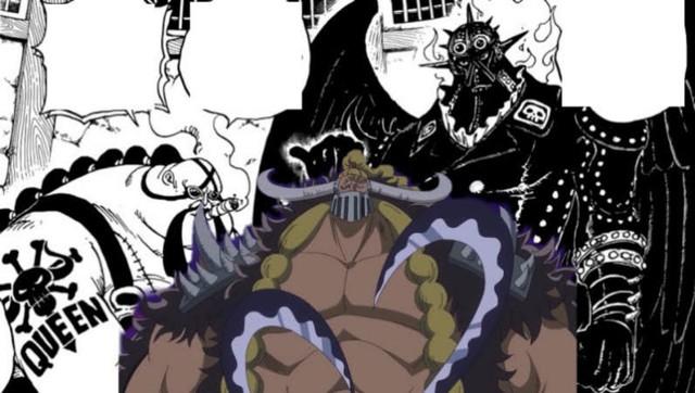One Piece: Queen và Jack có cùng màu tóc, liệu 3 thảm họa của Kaido có phải là anh em ruột thịt - Ảnh 3.