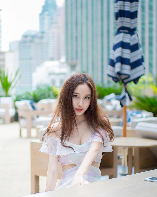 Cận cảnh nhan sắc thần tiên tỷ tỷ của hotgirl hoàn hảo nhất Đông Nam Á, ngại làm người mẫu vì bận học - Ảnh 3.