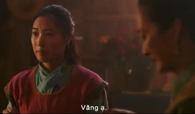 Hóa ra chị gái Hoa Mộc Lan trong teaser Mulan 2020 của Lưu Diệc Phi là nữ diễn viên gốc Việt - Ảnh 2.