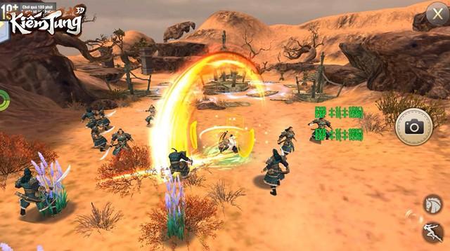 Hồi sinh ký ức võ lâm với tuyệt đỉnh PK Ngũ Hành trong siêu phẩm nhập vai sắp ra mắt - Kiếm Tung 3D - Ảnh 10.