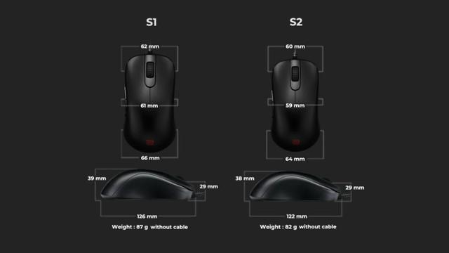 Đánh giá chuột chơi game BenQ ZOWIE S1/S2 - Fan cuồng FPS không thích RGB khó có thể bỏ qua - Ảnh 4.