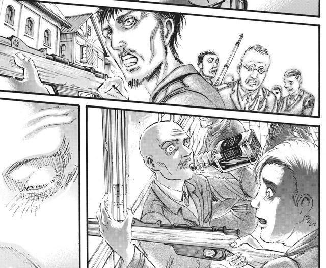 Attack on Titan chap 120: Màn lật mặt bất ngờ, Zeke đoạt sức mạnh titan thủy tổ từ Eren (Phần 1) - Ảnh 6.