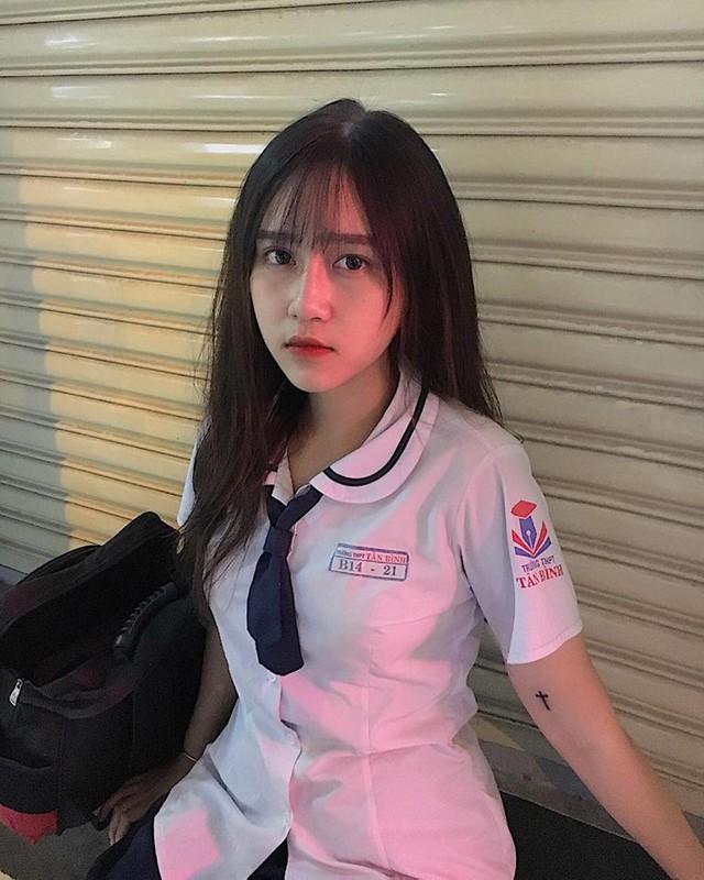 Xuất hiện cô nàng hot girl 2k1 xinh như búp bê, nhưng vòng một mới là điểm tạo nên sự chú ý - Ảnh 29.