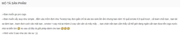 Chất chơi game thủ Việt: Soạn hẳn giáo trình bắn CS:GO như cao thủ để đem bán trên Shopee - Ảnh 2.