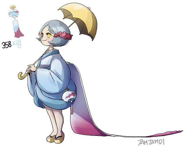 Cô nàng Hàn Quốc Tamtamdi lại vừa khiến fans phát cuồng với bộ ảnh mới: Toàn Pokemon phiên bản Loli cực moe - Ảnh 14.