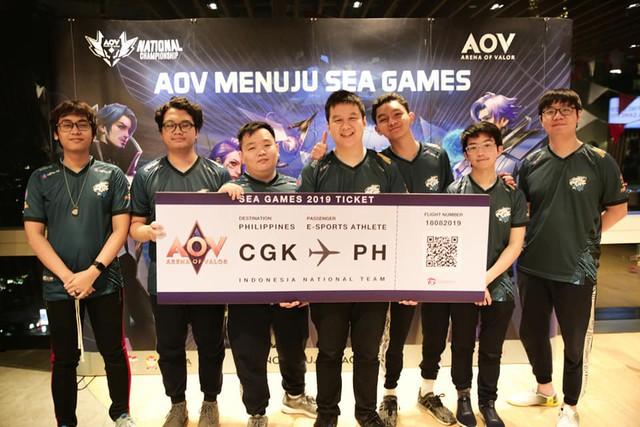 Team Flash của Liên Quân Mobile Indonesia dự SEA Games, fan lo: Phép màu mới thắng được VN - Ảnh 3.