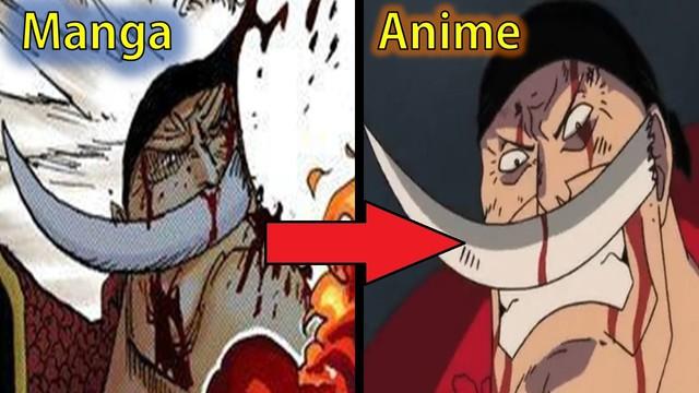 One Piece: Luffy rạch mặt và 10 điểm khác biệt giữa manga và anime - Ảnh 1.