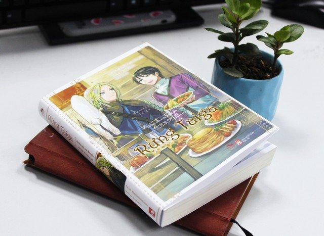 Ra mắt light novel Rừng Taiga: Câu chuyện tình của đại ngự tỷ và chàng phi công thích nấu ăn - Ảnh 2.
