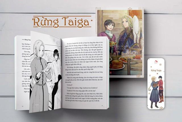 Ra mắt light novel Rừng Taiga: Câu chuyện tình của đại ngự tỷ và chàng phi công thích nấu ăn - Ảnh 1.