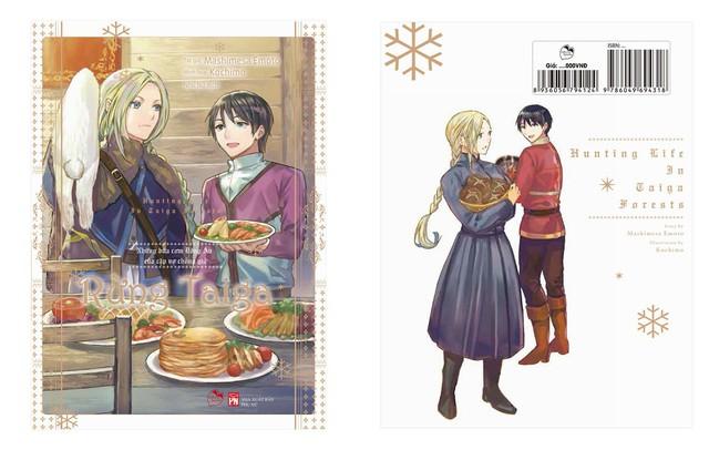 Ra mắt light novel Rừng Taiga: Câu chuyện tình của đại ngự tỷ và chàng phi công thích nấu ăn - Ảnh 3.