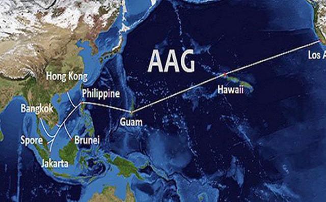Cáp biển AAG gặp sự cố từ ngày 16/8, Internet Việt Nam đi quốc tế lại bị ảnh hưởng - Ảnh 1.