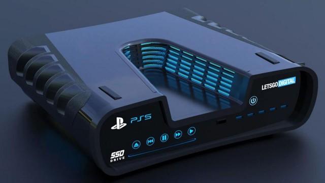 Xuất hiện thiết bị điện tử không xác định hình chữ V được cho là thiết kế của PS5 ? - Ảnh 1.