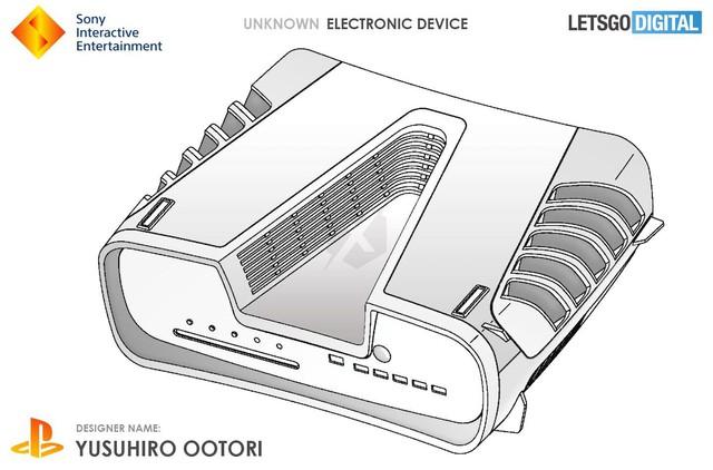 Xuất hiện thiết bị điện tử không xác định hình chữ V được cho là thiết kế của PS5 ? - Ảnh 3.