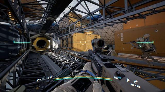 Game bắn súng bay nhảy ngoài không gian Boundary được hé lộ với đồ họa đẹp chết ngất - Ảnh 6.