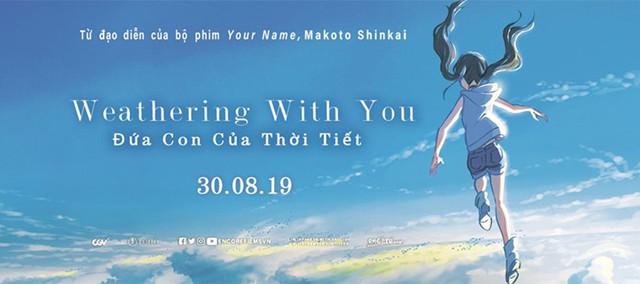 Sau Your Name, tác phẩm mới của Shinkai Makoto sẽ đến với khán giả Việt Nam vào cuối tháng 8 này! - Ảnh 1.