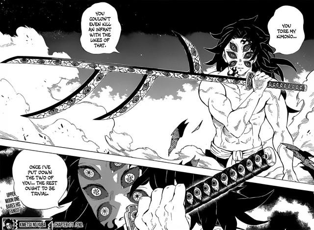 Kimetsu no Yaiba chương 171: Kokushibo vẫn chưa bị đánh bại, con đường thoát thân nào cho các Trụ cột còn lại? - Ảnh 4.