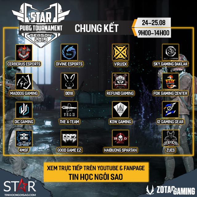 Toàn cảnh STAR PUBG TOURNAMENT - Giải đấu bất ngờ toàn top team Việt Nam: Refund, Sky Gaming, Divine, Cerberus... - Ảnh 3.