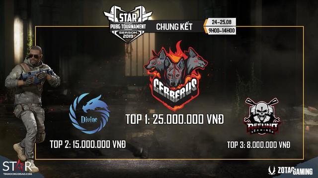 Toàn cảnh STAR PUBG TOURNAMENT - Giải đấu bất ngờ toàn top team Việt Nam: Refund, Sky Gaming, Divine, Cerberus... - Ảnh 1.