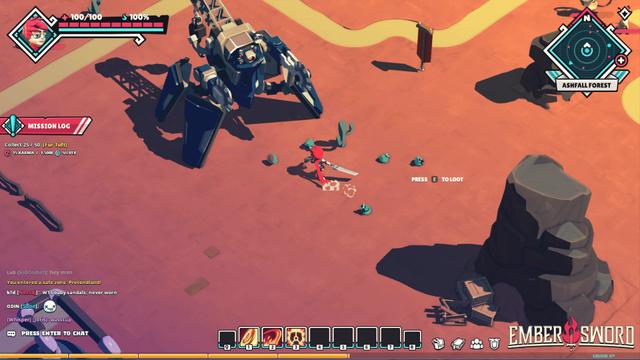 Ember Sword - Game nhập vai siêu tự do sắp mở cửa thử nghiệm - Ảnh 2.