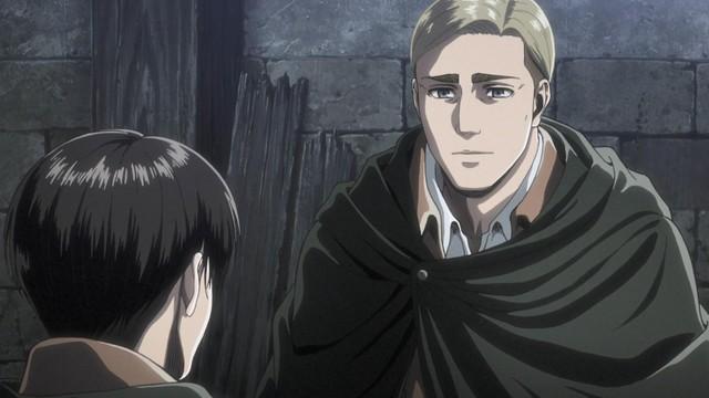 Attack on Titan: Lý do Levi quyết định tiêm dịch tủy Titan cho Armin chứ không phải Erwin - Ảnh 11.