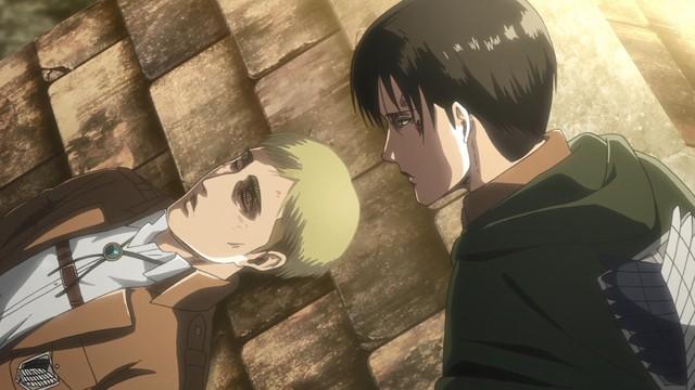 Attack on Titan: Lý do Levi quyết định tiêm dịch tủy Titan cho Armin chứ không phải Erwin - Ảnh 12.