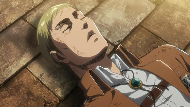 Attack on Titan: Lý do Levi quyết định tiêm dịch tủy Titan cho Armin chứ không phải Erwin - Ảnh 5.