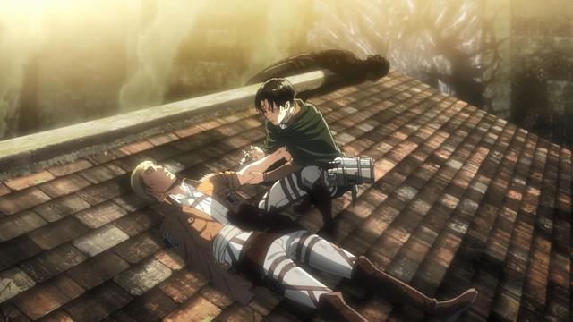 Attack on Titan: Lý do Levi quyết định tiêm dịch tủy Titan cho Armin chứ không phải Erwin - Ảnh 7.
