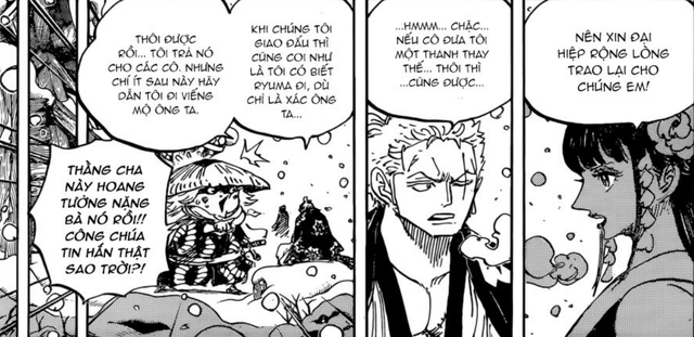 One Piece 954: Luffy vẫn miệt mài luyện tập mà không hay biết Kaido đã liên minh với Big Mom - Ảnh 1.