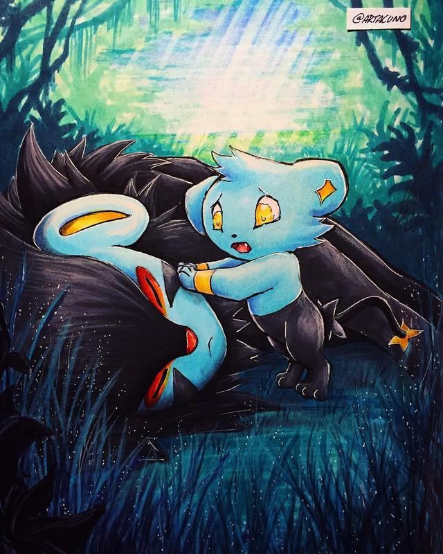Ngắm loạt tranh đáng yêu của các loài Pokemon khi gia nhập đại gia đình Disney - Ảnh 16.