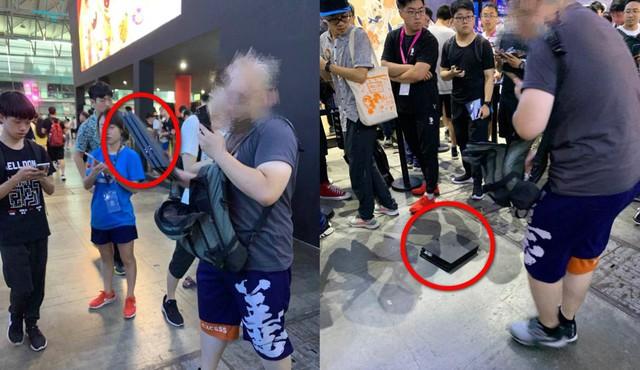 Phản đối game đạo nhái của Trung Quốc, người hâm mộ khủng bố NPH ngay tại hội chợ game - Ảnh 6.