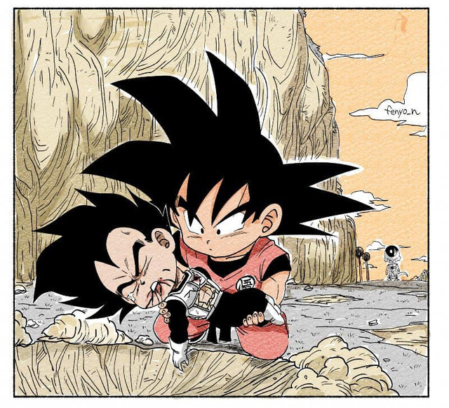 Trở về tuổi thơ với loạt fanart Dragon Ball theo phong cách chibi cực chất - Ảnh 8.