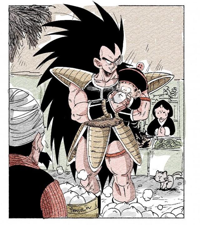 Trở về tuổi thơ với loạt fanart Dragon Ball theo phong cách chibi cực chất - Ảnh 4.