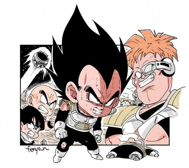 Trở về tuổi thơ với loạt fanart Dragon Ball theo phong cách chibi cực chất - Ảnh 7.