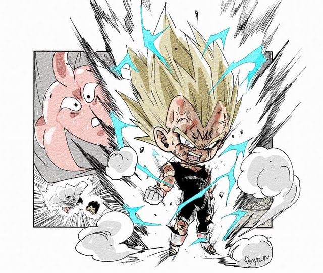 Trở về tuổi thơ với loạt fanart Dragon Ball theo phong cách chibi cực chất - Ảnh 18.