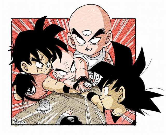 Trở về tuổi thơ với loạt fanart Dragon Ball theo phong cách chibi cực chất - Ảnh 1.