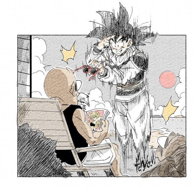 Trở về tuổi thơ với loạt fanart Dragon Ball theo phong cách chibi cực chất - Ảnh 12.