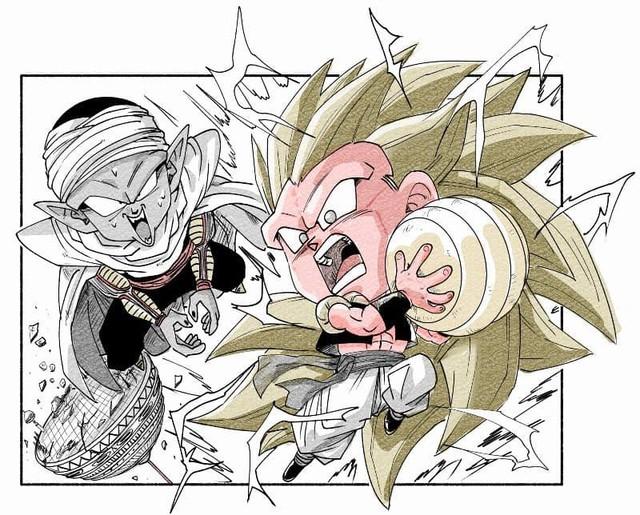 Trở về tuổi thơ với loạt fanart Dragon Ball theo phong cách chibi cực chất - Ảnh 19.