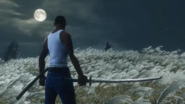Nhân vật huyền thoại CJ bất ngờ xuất hiện trong tựa game siêu khó Sekiro: Shadow Die Twice - Ảnh 3.