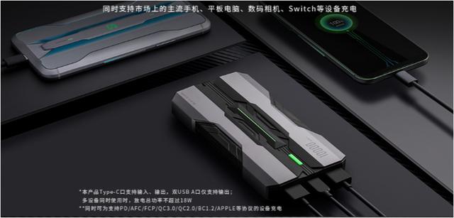Xiaomi ra mắt sạc dự phòng Black Shark: Dung lượng 10000mAh, sạc nhanh hai chiều 18W, giá 390.000 đồng - Ảnh 1.