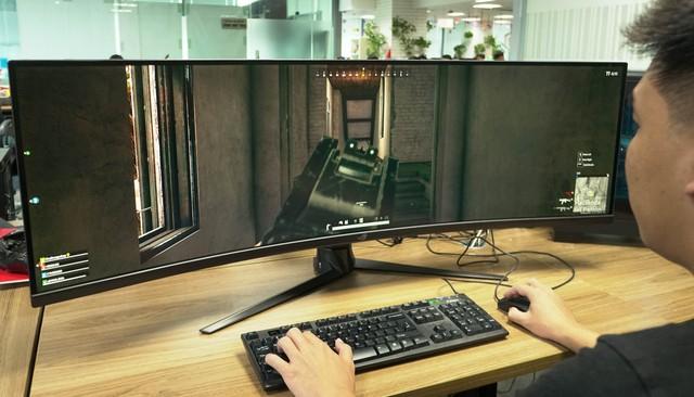 Trải nghiệm màn hình gaming Asus ROG Strix XG49V: Chơi trò gì cũng như đang hack map - Ảnh 14.