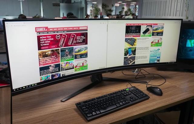 Trải nghiệm màn hình gaming Asus ROG Strix XG49V: Chơi trò gì cũng như đang hack map - Ảnh 12.