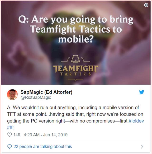 Riot lại chơi lớn, đưa Đấu Trường Chân Lý lên mobile để game thủ Việt chiến cho dễ dàng? - Ảnh 1.