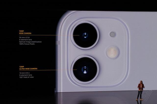 iPhone 11 chính thức ra mắt với chip mới mạnh mẽ, pin trâu nhưng giá rẻ chỉ hơn 16 triệu đồng - Ảnh 4.