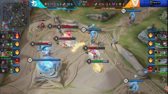 Liên Quân Mobile: Cấm thẳng dàn tướng tủ của ADC, IGP Gaming khuất phục Team Flash và giành ngôi đầu - Ảnh 5.