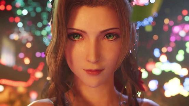 Toát mồ hôi với vẻ ngoài siêu nóng bỏng của cô bé bán hoa Aerith trong Final Fantasy VII Remake - Ảnh 1.