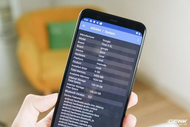 Trên tay Google Pixel 4 XL chưa ra mắt nhưng đã bị lộ tại Việt Nam - Ảnh 12.