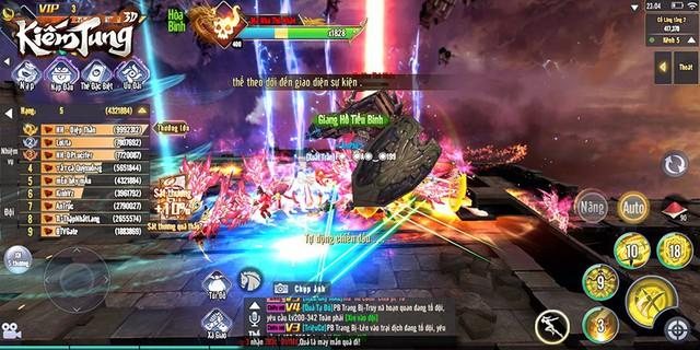 Nóng hừng hực với những cuộc săn Boss khô máu hơn cả chiến trường trong Kiếm Tung 3D - Ảnh 3.