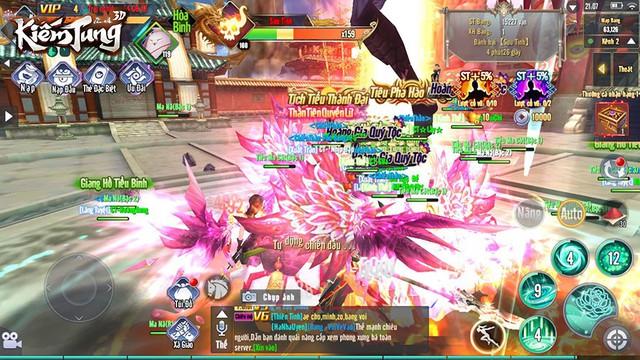 Nóng hừng hực với những cuộc săn Boss khô máu hơn cả chiến trường trong Kiếm Tung 3D - Ảnh 5.