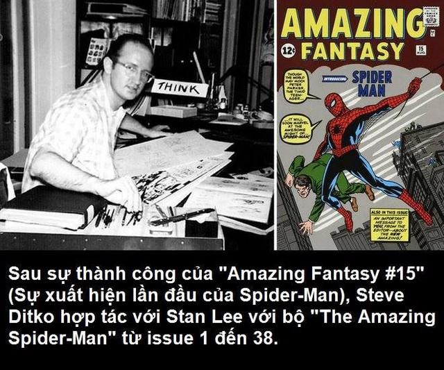 Tất tần tật thông tin về Stan Lee và Steve Ditko, 2 con người tuyệt vời đã tạo ra Spider-Man - Ảnh 2.